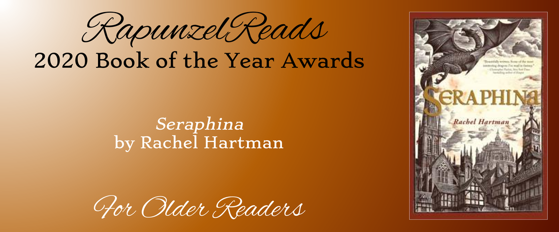 Rapunzel Reads Books of the Year - Seraphina by Rachel Hartman